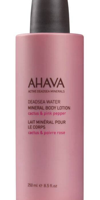 mineral body lotion - cactus & pink pepper