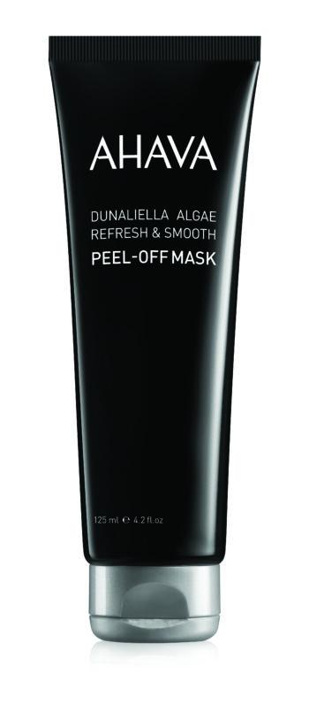 Dunaliella algae peel-off mask